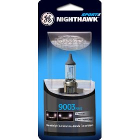 Show details of GE Nighthawk SPORT 9003NHS/BP Automotive Replacement Bulbs, Pack of 1.