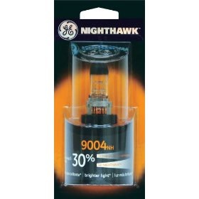 Show details of GE Nighthawk 9004NH/BP Automotive Replacement Bulbs, Pack of 1.