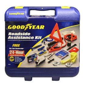 Show details of Auto Roadside Assistance Kit by Goodyear - Emergency Car Kit.