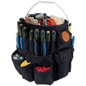 Show details of Klein Tools Bucket Tool Organizer 5777 - 45 Pockets.