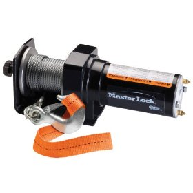 Show details of Master Lock 2000 Portable ATV Winch #2955AT.
