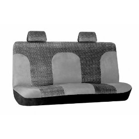 Show details of Diamond Tweed Standard/Full Bench Seatcover, Grey - Fits Vans, SUVs & Trucks.