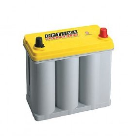 Show details of Optima D51R Yellow Top Battery.