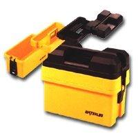 "Show details of Waterloo (WATHP50465) 16-1/4"" Plastic Organizer Tool Box, Yellow."