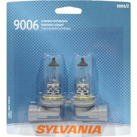 Show details of Sylvania 9006ST SilverStar High Performance Halogen Headlights, Pack of 2 Bulbs.