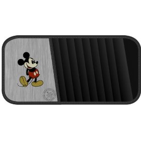 Show details of Vintage Mickey Mouse Style CD/DVD Visor Organizer.