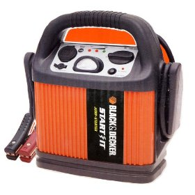Show details of Black & Decker VEC010BD Start It 300 Amp Jump Starter.
