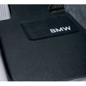 Show details of BMW Genuine Black Floor Mats for E46 - 3 SERIES ALL MODELS COUPE & SEDAN (1998 - 2006), set of Four.
