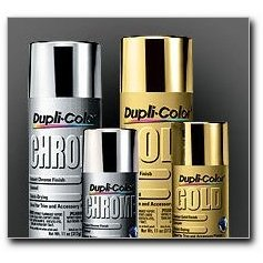 Show details of Dupli-Color Instant Chrome Spray Enamel, 11 oz. can.
