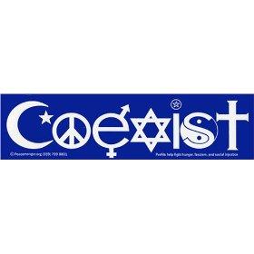 Show details of Coexist Bumper Magnet.