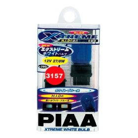 Show details of PIAA 19295 3157 Xtreme White Miniature Bulb - Pack of 2.
