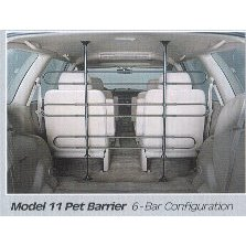 Show details of Midwest Metal 11 Pet Barrier 6 Bar Tubular.
