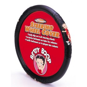 Show details of Betty Boop Steering Wheel Cover.