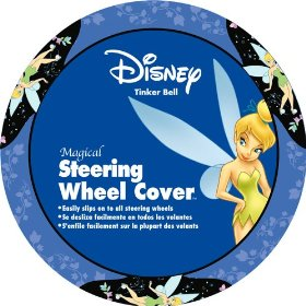 Show details of Tinker Bell Blue Steering Wheel Cover.