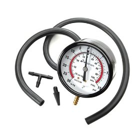 Show details of Actron CP7802 Vacuum and Fuel Pressure Tester Kit.