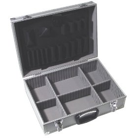 Show details of Fuller 997-0015 18-Inch Long by 13-Inch Wide by 5-7/8-Inch High Aluminum Tool Case.