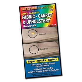 Show details of Lifetime Repair Products No Heat Fabric & Upholstery Repair Kit.