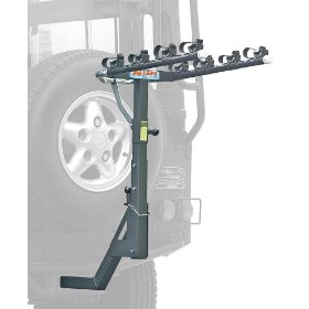 Show details of Allen Deluxe 4-Bike Hitch Mount Rack for Vehicles with Rear Mounted Spare Tire (2-Inch Receiver).