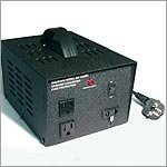 Show details of 1000 WATTS HEAVY DUTY CONTINUOUS USE 110V-240V STEP UP/DOWN TRANSFORMER-MODEL VT 1000.