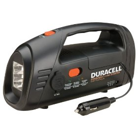 Show details of Duracell DJUMP Emergency Car Starter with Flashlight.