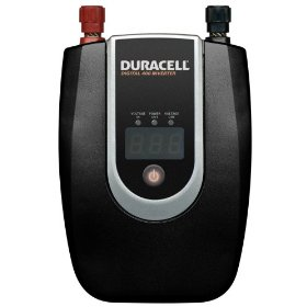 Show details of Duracell 813-0400-07 Digital DC to AC Power Source Inverter 400 Watt.