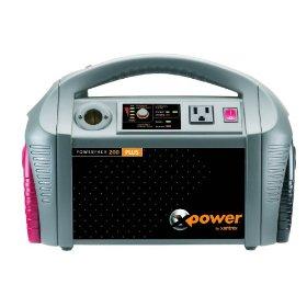 Show details of Xantrex 852-0200 XPower Powerpack 200 Plus Portable Backup Power Source.