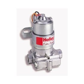 Show details of Holley 712-8011 Red Electric Marine Fuel Pump.