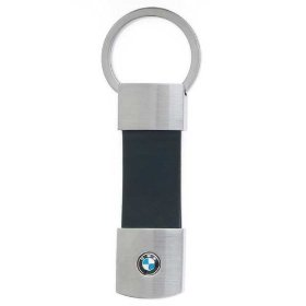 Show details of BMW Genuine Leather Key Chain.