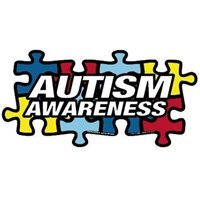 "Show details of Autism Awareness Puzzle Car Magnet 8"" X 4"" Autism Awareness Puzzle Piece Car Magnet."