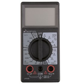 Show details of Actron CP7676 Digital Multimeter.