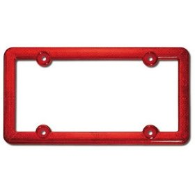 Show details of Cruiser Accessories 30410 Reflector, Red.