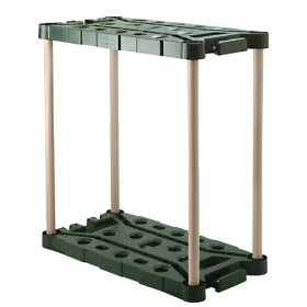 Show details of Rubbermaid 7092 Long-Handle Tool Storage Unit.
