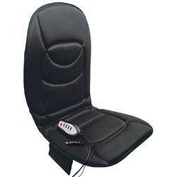Show details of RoadPro 12-Volt Heated Massaging Back Seat Cushion.