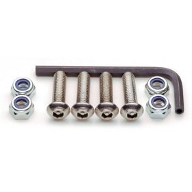 Show details of Cruiser Accessories 81330 Locking Fasteners, Import-Stainless.