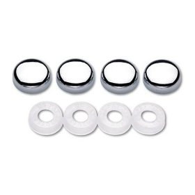 Show details of Cruiser Accessories 82030 Screw Covers, Chrome.