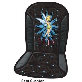 Show details of Tinker Bell Pixie Power Universal-Fit Seat Cushion.