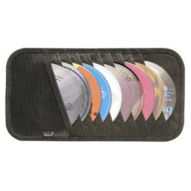 Show details of 10-CD Visor Organizer.