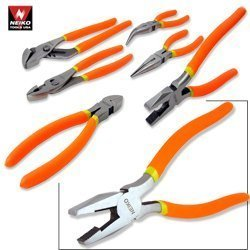 Show details of Heavy-Duty Professional Mechanic's 5-Piece Plier Set.
