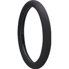 Show details of Ergo Grip Steering Wheel Cover, Black.
