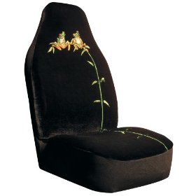 Show details of Tree Frogs Bucket Seat Cover.