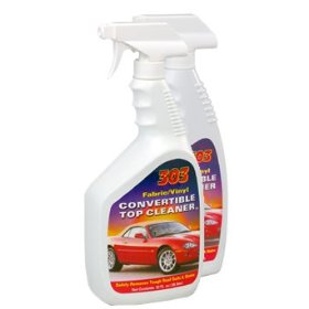Show details of 303 Fabric/Vinyl Convertible Top Cleaner 32oz.