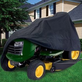 Show details of Classic Accessories Deluxe Tractor Cover (Black).