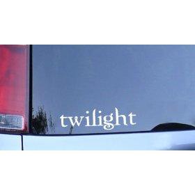 Show details of twilight logo - edward cullen vampire fan window sticker.