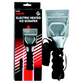 Show details of 12-Volt Heated Ice Scraper & Melter - Non-Scratch - 14-Ft Cord.