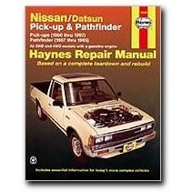 Show details of Haynes Nissan/Datsun Pick-ups and Pathfinder (80 - 97) Manual.