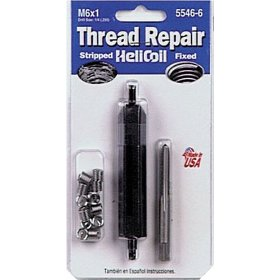 Show details of Helicoil 5546-6 Thread Repair Kit M6 x 1.0.