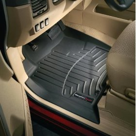 Show details of WeatherTech 440661 Black Front Floor Liner.