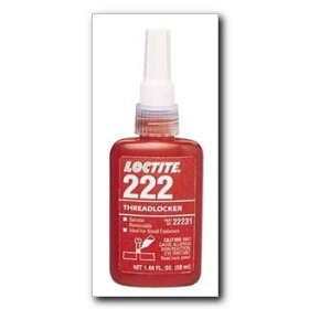Show details of Loctite Threadlocker 222 Low Strength Purple 6 ml. tube.