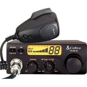 Show details of Cobra 19 DX IV 40-Channel Compact CB Radio.