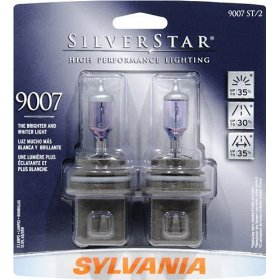 Show details of Sylvania 9007ST BP 8 SilverStar Twin High Performance Halogen Headlight Bulb.